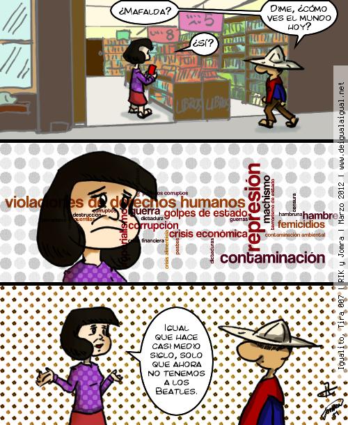 Igualito 007 – Homenaje a Mafalda