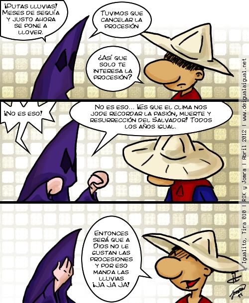 Igualito 010 – Semana Santa