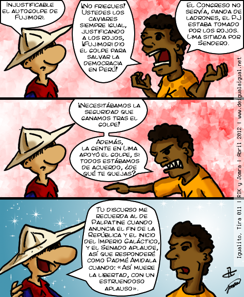 Igualito - Autogolpe