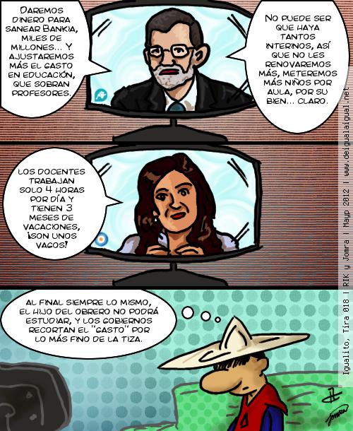 Igualito 018 – políticos y educación