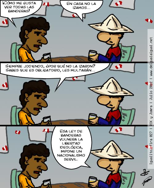 Igualito 027 – patriotismo por ley