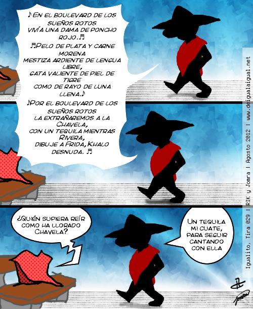 Igualito 029 – ay, Chavela