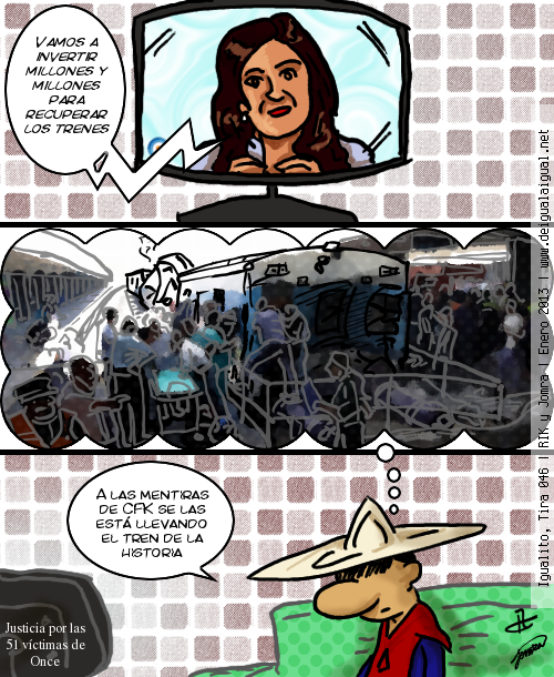 Igualito 046 – de trenes va