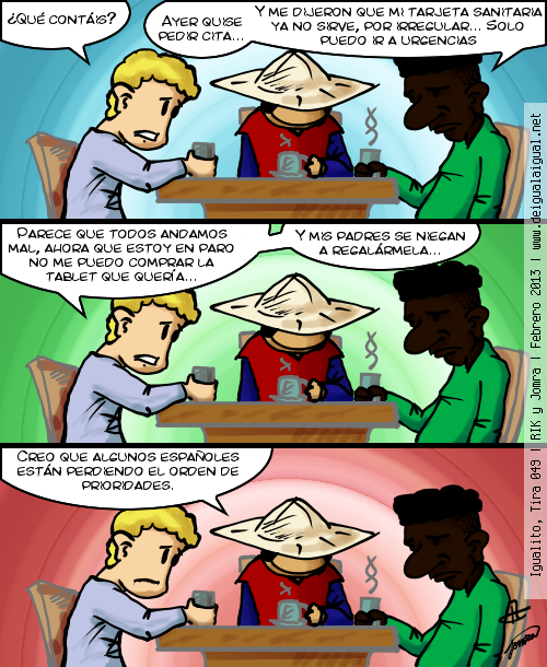 Igualito 049 – otra de prioridades