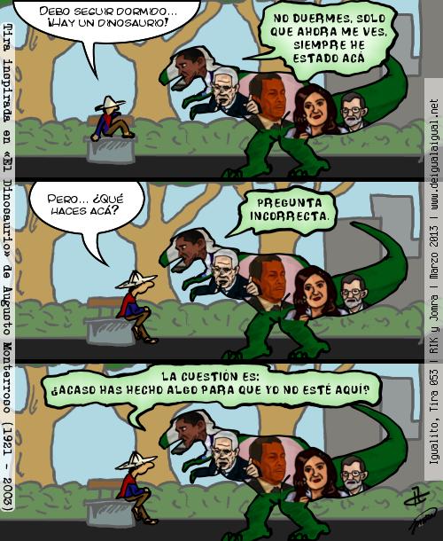 Igualito 053 – Dinosaurio (II)