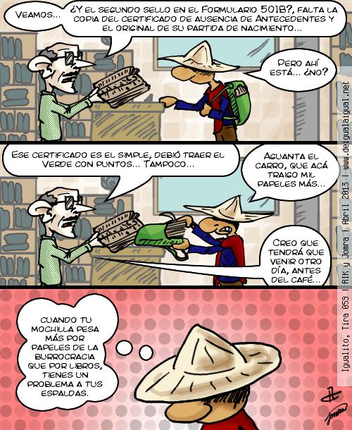 Igualito 059 – burocracia