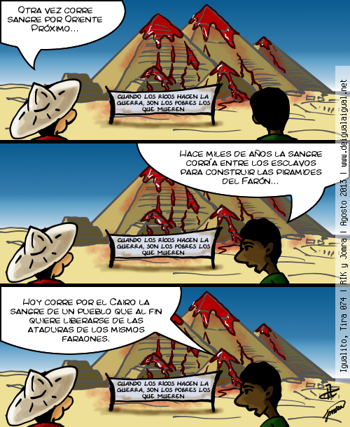 Igualito 074 – otra vez, Egipto