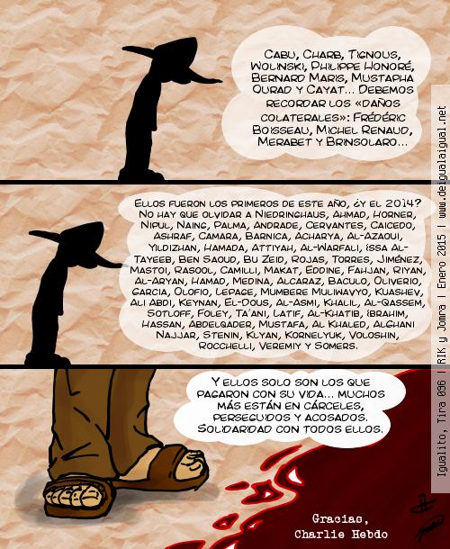 Igualito 096 – Gracias, Charlie Hebdo
