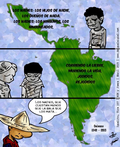 Igualito 107 – «los nadies»