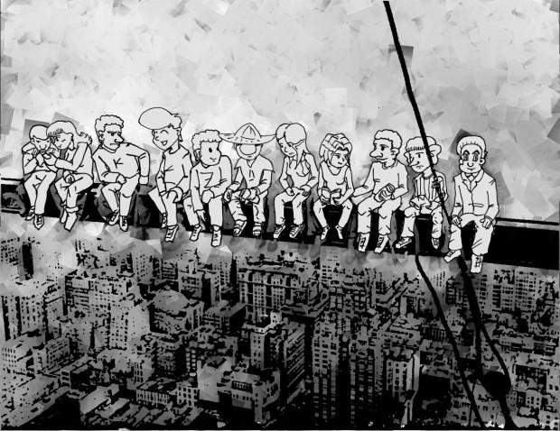 Igualito rascacielos