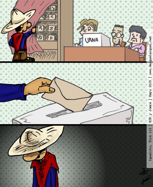 Igualito 112 – elecciones