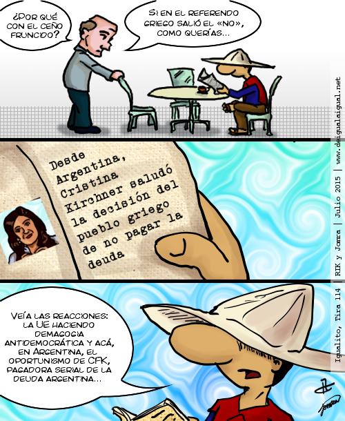 Igualito 114 – oportunismo político