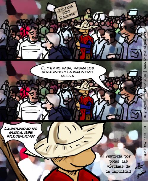 Igualito 131 – contra la impunidad