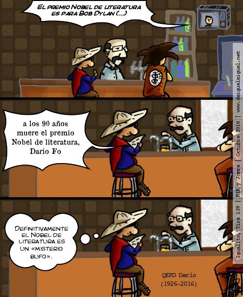 Igualito 139 – Nobel de Literatura