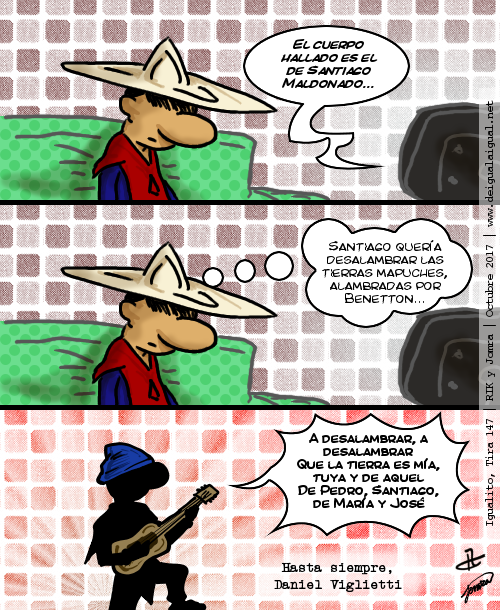 Igualito 147 – desalambrar