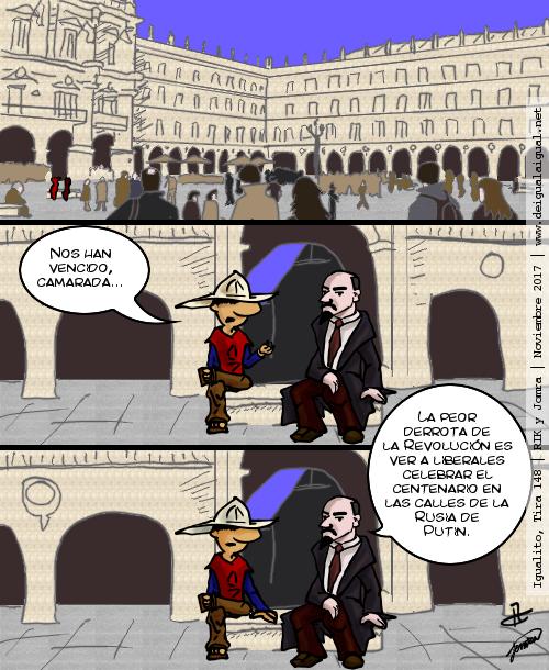 Igualito 148 – 100 años de la revolución Rusa