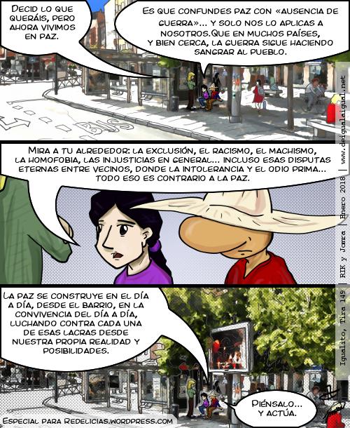 Igualito 149 – Paz