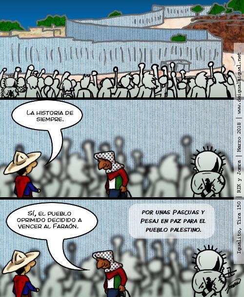Igualito 150 – Palestina