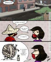 Tira 153 de Igualito, homenaje a Quino